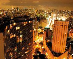 Uma lista de lugares para ver São Paulo do alto