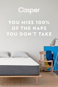 """Our outrageously comfortable mattress combines premium memory foam for support and a healthy bounce. The sleep surface lovingly contours to your body and keeps you cool throughout the night. The best part is, it's delivered straight to your door in a small """"how did they do that?"""" sized box. Try the Casper for 100 nights, risk-free."""