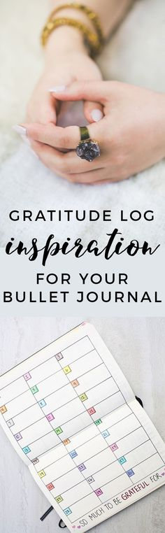 Ultimate list of some of our favorite Bullet Journal Gratitude Log spreads! http://productiveandpretty.com/bullet-journal-gratitude-logs/?utm_campaign=coschedule&utm_source=pinterest&utm_medium=Jen%20%2B%20Liz%20%7C%20Productive%20and%20Pretty&utm_content=Powerful%20Bullet%20Journal%20Gratitude%20Logs%20To%20Inspire%20Action