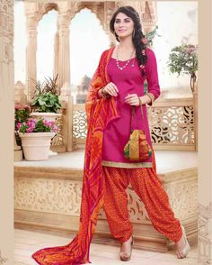 Pink   luxuriant Gota Patti Work Cotton Salwar Suits for women(Semi Stitched)       Fabric:   Cotton       Work:   Gota Patti Work       Type:   Salwar Suits for   women(Semi Stitched)       Color:   Pink                   Fabric Top   Cotton