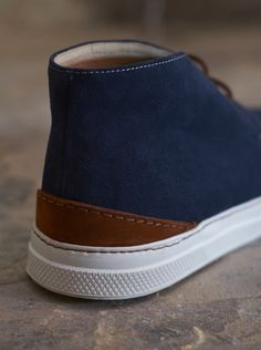 Suede Bumper Boots by Universal Works.