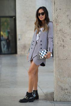 Aimee Song at Paris Fashion Week