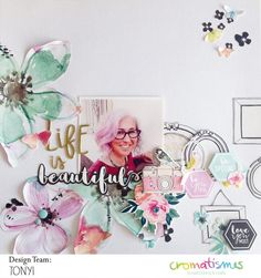 Layout Beautifuls By Tonyi | Cromatismes
