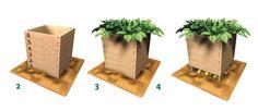 Au programme aujourd'hui, la tour à pommes de terre ! Idéal pour faire pousser ses patates dans un minimum d'espace. Pour ce faire, on les faits pousser à la verticale, dans une tour.
