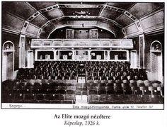 Így nézett ki az Elit Mozi belülröl, amikor megnyították a 1920-as években,