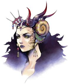 Edea Cramer from Final Fantasy VIII sorceresses in this game were too cool!