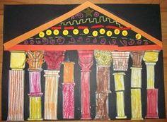 Roman Art, Greek Art, Ancient Greece, Romans, Diy For Kids, Mythology, Animation, Projects, Continents