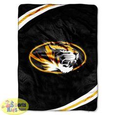 Northwest Missouri Tigers Force Raschel Blanket
