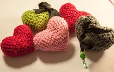 Crochet Love Heart by EstherMouse on Etsy, £3.00