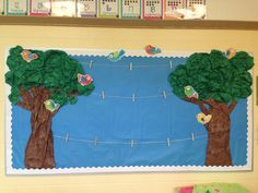 ideas for paper tree classroom bulletin boards student