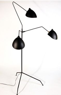 Praying Mantis floor lamp from Organic Modernism is a fun way to add that little something to any space. $575