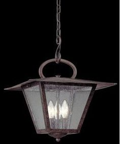 Troy Lighting FF2956 Potter - One Light Outdoor Large Pendant Fired Iron Finish by Troy & Troy Lighting 4 Light Preston Large Outdoor Pendant   Chandeliers ... azcodes.com