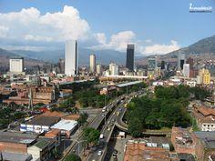Medellín, la ciudad de la eterna primavera.#Medellin #Metro #Colombia #CiudadColombia #Botero #Medallo #Paisajes #LandScape