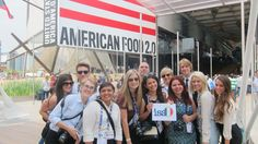 #CronkEuro15 reporters at the U.S.'s pavilion at the World Expo in Milan!