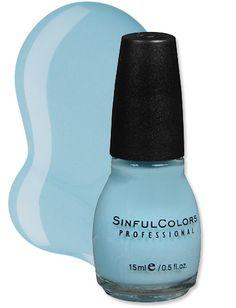 Cinderella Sinful Color nail polish