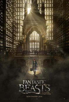 "There's also this new film poster to accompany it. | The ""Fantastic Beasts""…"