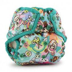 Diapering Cooperative Tokidoki X Kanga Care Tokisweet Mint Chip Rumparooz Cloth Diaper Cover One Size