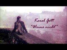 """Karel Gott - Weine nicht from the album """"Meine Wolgamelodie"""", Polydor digitally remastered for the compilation """"Einmal um die ganze Welt"""" (Polydor) Thi. Youtube, Album, Film, Digital, Concert, Movie Posters, Music, Singing, Wine"""