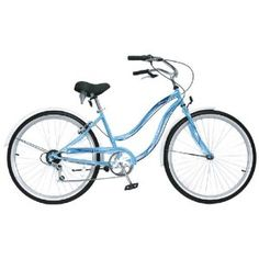 $151.58 Pacific Shorewood Women's Cruiser Bike (26-Inch Wheels). not pink but cute