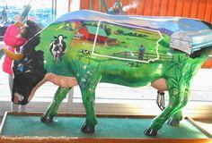 Cow Parade - Public Art Events Around the World Hits Harrisburg Pennsylvania