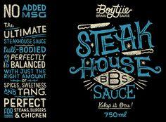 Boytjie Braai Sauce on Packaging of the World - Creative Package Design Gallery
