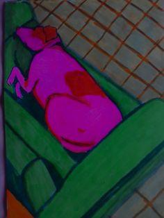 cachorro rosa