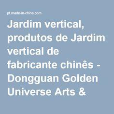 Jardim vertical, produtos de Jardim vertical de fabricante chinês - Dongguan Golden Universe Arts & Crafts Co., Ltd.