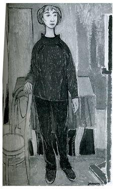 tove jansson self portrait Finland Portraits, Portrait Images, Moomin Books, Sketching Techniques, Tove Jansson, Art Studies, Pictures To Paint, Illustration Art, Finland