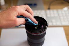 Come pulire lenti e filtri, senza avere un'attacco di panico.