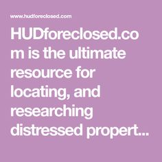 HUDforeclosed.com is the ultimate resource for locating, and researching distressed properties in the United States. Mobile Homes For Sale, Find Homes For Sale, Camping Washing Machine, Texas County, Foreclosure Listings, Distressed Property, Hud Homes, Foreclosed Homes, Massachusetts Institute Of Technology
