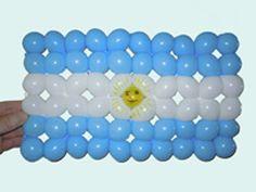 Argentina flag balloon weaving