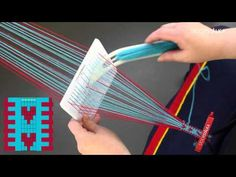 Weaving hearts with STOORSTÅLKABand weaving kit Sunna 5 - YouTube