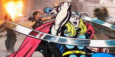 SUPERHERO CROSSOVER – COMICS MEET THEIR MOVIES