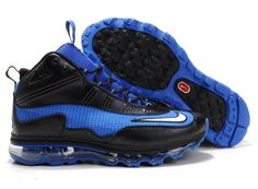 Nike Air Griffey Max 1 Air Max Jr Men s Baseball Shoe 442478 410 Blue Black 087c41b8cfc13