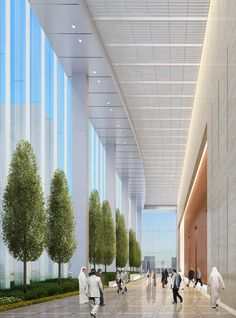 Chicago architecture firm Goettsch Partners has designed the flagship commercial development for UAE-based Al Hilal Bank in the heart of Abu Dhabi's Al Maryah Island, formerly known as Sowwah Island.