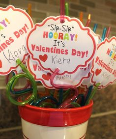 Sip Sip Horray Its Valentines Day Printables