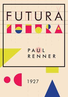 Futura Typeface Poster 62918 | NANOZINE