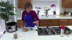 How to Make Crockpot Peanut Butter and Flax Energy Bars: Easy, Healthy P...