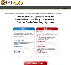DUvisio Affiliate Network affiliate program JV invite - Affiliate Program Announced: Tuesday, July 21st 2015 - http://v3.jvnotifypro.com/announcements/partner/gina_gaudio_graves_and_jack_humphrey/DUvisio_Affiliate_Network