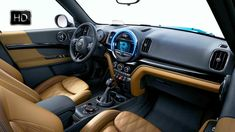 2017 MINI Cooper S Countryman ALL4 Luggage compartment & Interior Design...