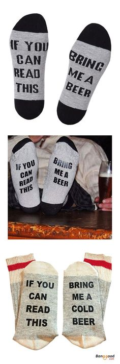 Free shipping&43%OFF. Unisex. Funny Socks, If you can read this, bring me a beer! Bring me a cup of coffee! Bring me some wine! Shop now~