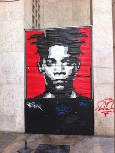 Basquiat portrait STREET ART BLOG