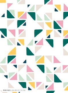 Manon Garritsen   triangle pattern