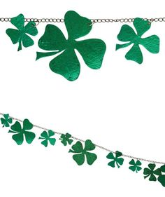 Chained Shamrock Garland from The Holiday Barn