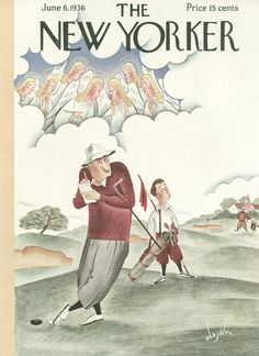 The New Yorker - Saturday, June 6, 1936 - Issue # 590 - Vol. 12 - N° 16 - Cover by : Constantin Alajalov