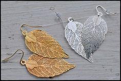 Beautiful  stunning and light  leaf by HipFarmChickDesigns on Etsy, $15.00