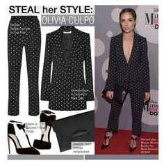 """""""Steal Her Style-Olivia Culpo"""" by kusja ❤ liked on Polyvore featuring Olgana, Givenchy, women's clothing, women's fashion, women, female, woman, misses, juniors and Stealherstyle"""