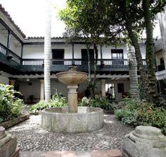 Patio interior de la Casa del Florero. Bogotá