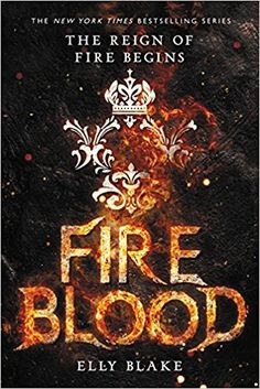 Fireblood by Elly Blake--Fantasy, book 2 in the Frostblood Saga Ya Books, Free Books, Good Books, High Fantasy, Fantasy Books To Read, Beautiful Book Covers, Book Cover Design, Book Nerd, Book Recommendations