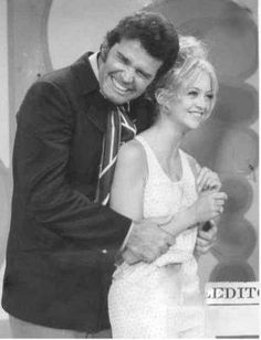 James Garner and Goldie Hawn on Rowan and Martins Laugh In